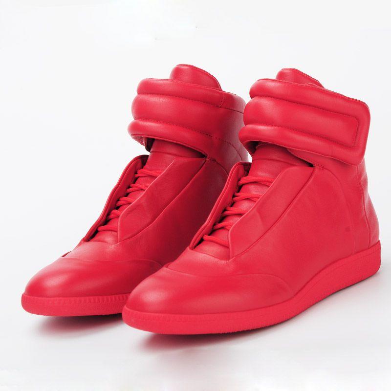 Red Spiked Designer Shoes