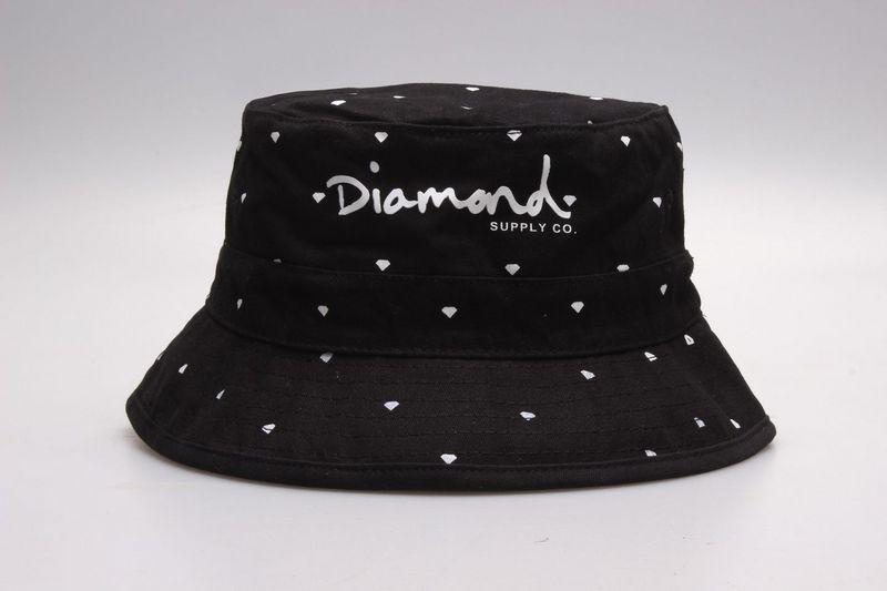2019 Diamond Supply Co Bucket Hats Diamond Fisherman Hat Cap Summer Fashion  Sun Hats Man Woman Travel Outerdoor Caps From Hat trick 67967b27c49