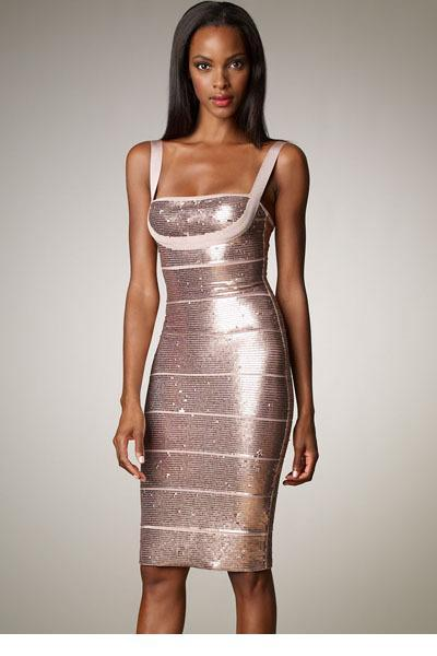 Sequin Bandage Dress
