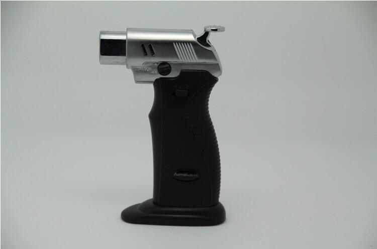 Adjustable Flame Lighter Gas Lighters Jet Cigarette Welding Torch Lighter gas lighter windproof lighters