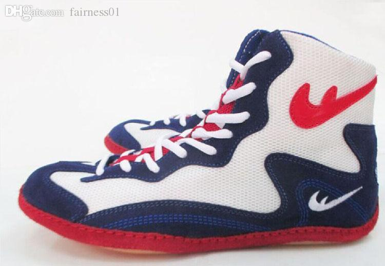 new product 9fc38 df588 2019 Wholesale Champion Wrestling Shoes Rare Footsweeps Boxing Shoes Brand  Originated From The Year Of 2000 Runlon,Ringer Reps,Inflicts From  Fairness01, ...