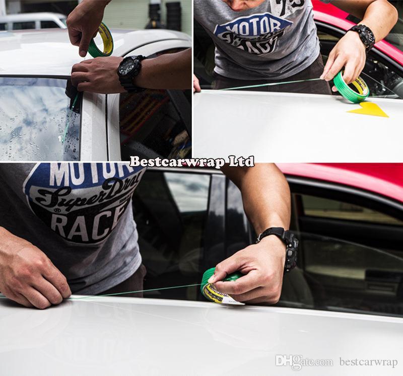 2 개 Knugelesstape 자동차 포장용 그래픽 디자인 칼 칼 레스 테이프 Knife Cut 50s / 롤 DHL 무료 배송
