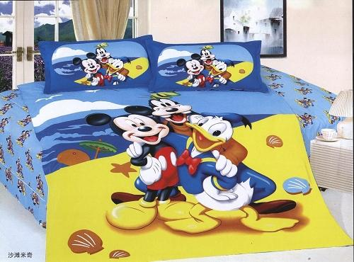 Beach Themed Comforter Sets Mickey Mouse Donald Duck Print