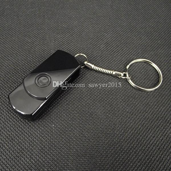 Mini Key Chain video camera HD 1280*960 USB Disk mini Camera Mini DV DVR Portable Voice video Recorder black