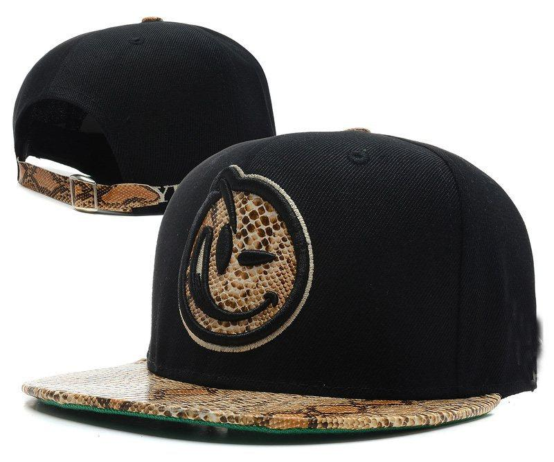Hiphop YUMS Classic Snapback Cap Black With Snakeskin Brim Top Quality Mens  Womens Baseball Hat Flat Bill Hats Baseball Hat From Walked1 6ac5460ed715