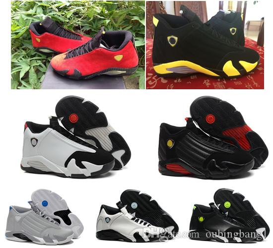 52a6bc82e64c 2018 14s 14 Indiglo Oxidized Green Thunder Black Toe Cool Grey Men  Basketball Shoes Cheap Sneakers Shoes Sports Shoes Basketball From  Oubingbang1