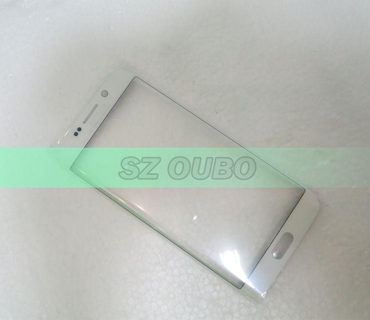 خلية قطع غيار هواتف تعمل باللمس لوحة الشاشة لشاشة الهاتف حافة الزجاج بديل لمسة سامسونج غالاكسي S6 للتجديد حافة S6