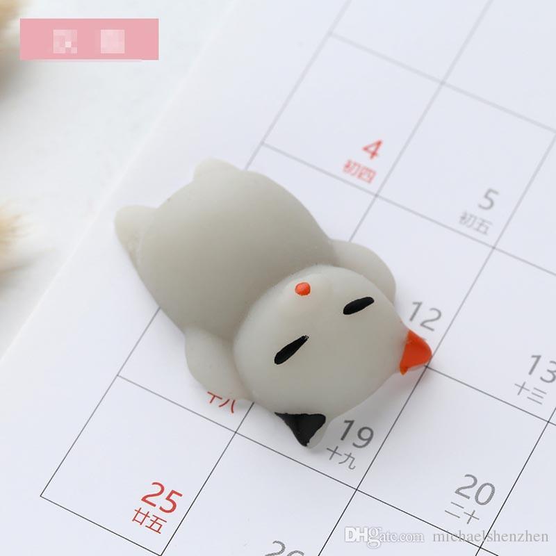 Fidget PVC Tier Extrusion Lüftungs Spielzeug Squishy Rebound matschig lustige Gadget Vent Decompression Spielzeug Mobile Anhänger B001