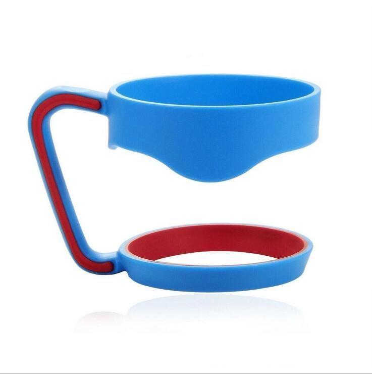 Plastikbecher Griff 30oz Becherhalter Für Tumbler Cup Schwarz Griff Hand Halter Fit Reise Auto Tassen Drinkware Griffe Outdoor Gadgets