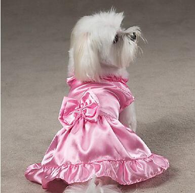 2018 Dog Dress Style Cute Design Puppy Dress Dog Princess Dresses ...