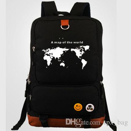 A map of a world backpack cool daypack street schoolbag casual a map of a world backpack cool daypack street schoolbag casual rucksack sport school bag outdoor day pack map backpack online with 3986piece on tpxbags publicscrutiny Images