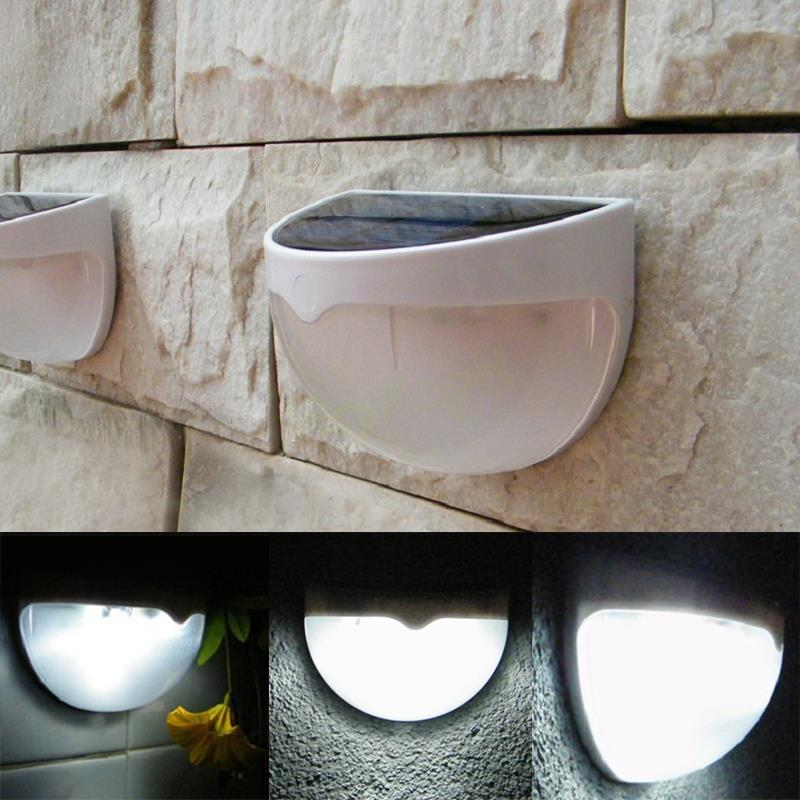 2015 New Solar Wall Light Solar Fence Lamp Wall Lamp Outdoor Lights  Waterproof Solar Powered Gutter Garden Wall Roof Lamp