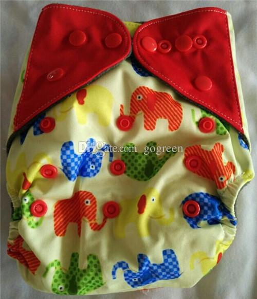 2016 New Designe Naughtybaby Heavy Wetter Night AIO AI2 Newborn Cloth Diapers Nappies Fit All