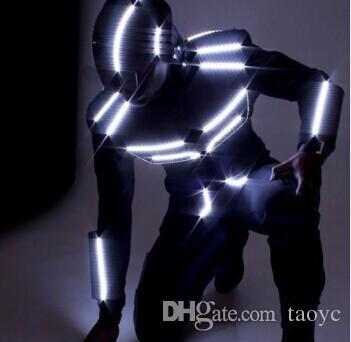 2018 Led Dance Suit Led Robot Costume Led Light