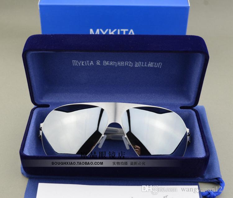 Frete grátis Alemão Mykita óculos de sol óculos de sol óculos de sol super leve motorista e óculos de sol das mulheres