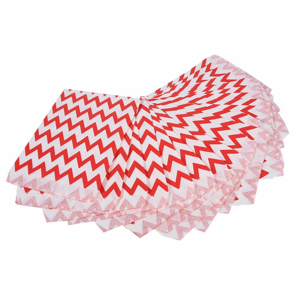 Wedding Decoration Favor Candy Box Stripe Wedding Paper Bag Gifts For Wedding Birthday Party Supplies Snack Food Packaging
