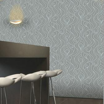 Designer Graphic Grey Wallpaper Modern Geometric Swirls Roll Abstract Ripple Wave Spiral Textured Wall Paper Angelina Jolie Wallpapers Animated