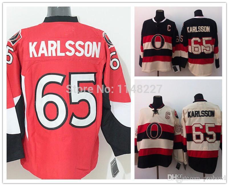 86e880060f2 30 Teams-Wholesale Cheap Men Erik Karlsson Jersey  65 Ottawa Ice Hockey  Jerseys Red Home Black Hockey Jersey C Patch Jersey Canada Jersey Sun Jersey  Pearl ...