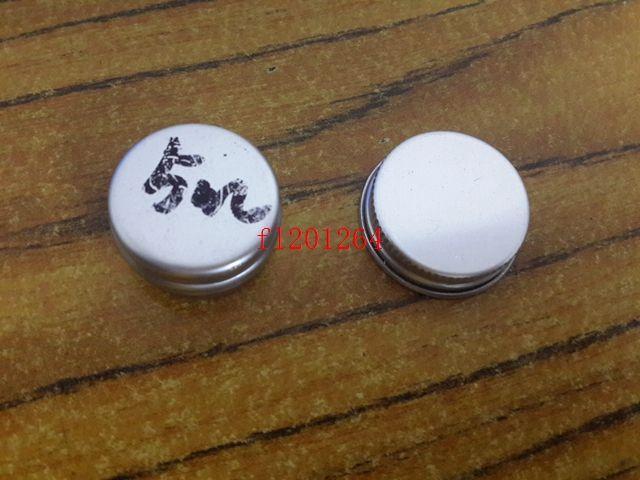 500 unids envío gratis 5 ml bálsamo de aluminio latas olla tarro 5 g contenedores comestic con rosca de tornillo bálsamo labial brillo de la vela de embalaje