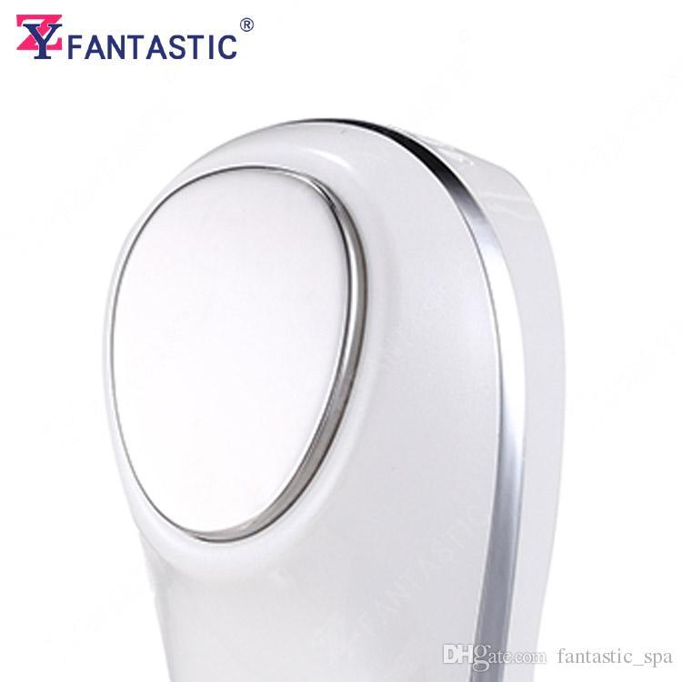 Wiederaufladbares Gesicht Ultraschall Vibrationsmassagegerät Hot Cold Hammer Heimgebrauch Beauty Equipment Falten Akne Entfernung Hautstraffung