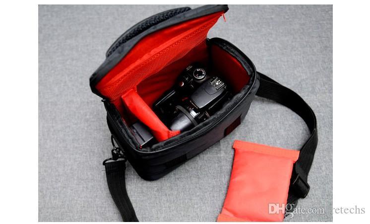 Saco Da Câmera RAIN Capa Bolsa De Ombro Canon Saco De Câmera Digital 600D 700D 70D 5D 360D Fotografia Sísmica DHL Frete Grátis