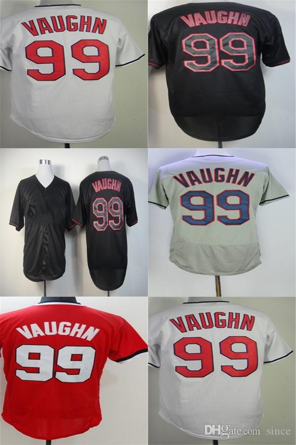 34585b8e515 Factory Outlet Cleveland 99 Rick Vaughn Mens Womens Kids Toddlers ...