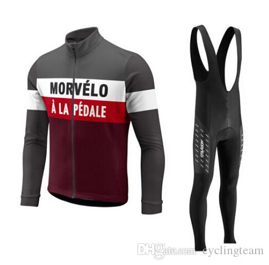 зима тепловой флис Morvelo 2015 велоспорт одежда езда на велосипеде трикотажные изделия продажа велоспорт комплект зима велоспорт Джерси горный велосипед зима Джерси