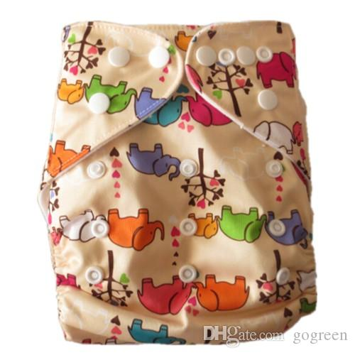 Baby Reuseable Pocket Cloth Diapers Nappy 5 bamboo terry Inserts + 1 wetbag free gift