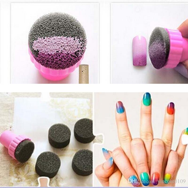 2015 New Hot Sell Manicure Sponge Nail Art Stamper Tools With Sponge ...
