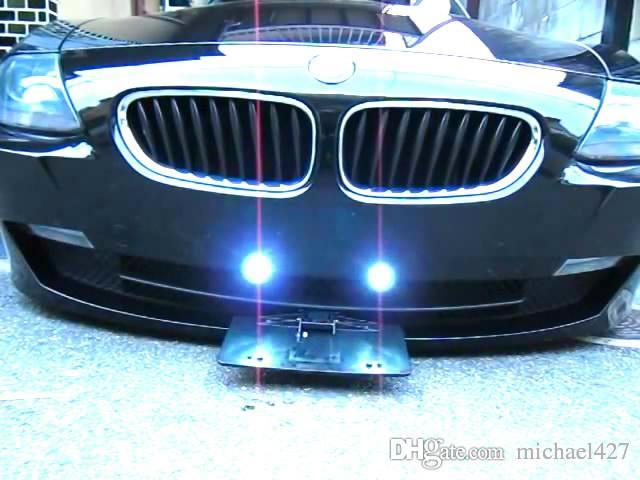 2018 Show N Go Retractable Car License Plate Frame Hide