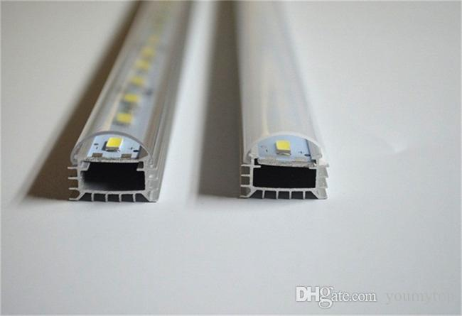 * 50cm Usine En Gros 50CM DC 12V 36 SMD 5630 LED Dur Rigide LED Strip Bar Lumière avec U shell en aluminium + couverture