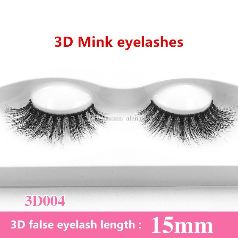 Neue 100% Echt Sibirische 3D Nerz Wimpern Falsche Wimpern Verlängerung 3D Falsche Wimpern Lange Individuelle Wimpern Nerz Wimpern