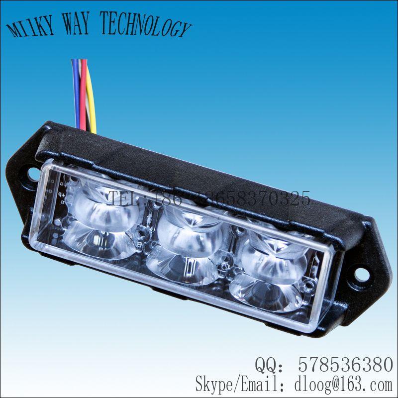 vs 918d dual color led grill lights cree 3w led 15 flash pattern