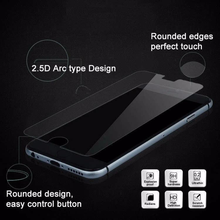 Nouvelle arrivée ultra mince 0.3mm premium verre trempé protecteur d'écran pour iPhone 6 4.7 pouces anti-déflagrant film pour Iphone 6 /