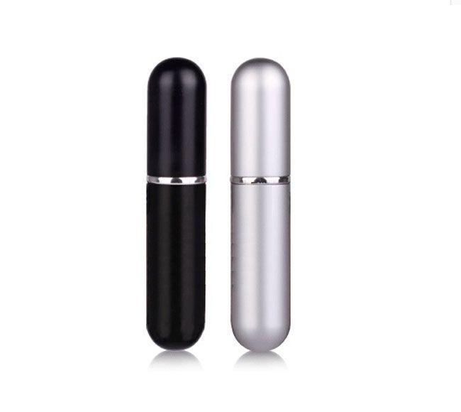 Bunte nachfüllbare leere Zerstäuber reisen Parfümflasche-Spray-Verfassungs-Aftershave-bunte Metallflasche 5ML / DURCH DHLFree Verschiffen
