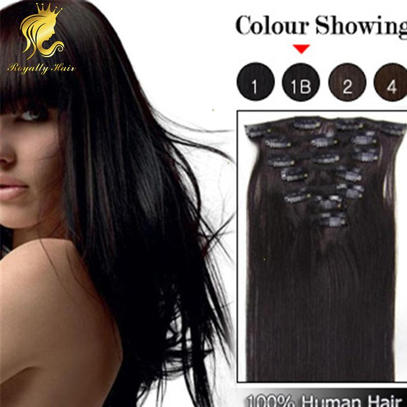 1b off black clip in human hair extensions brazilian human hair 1b off black clip in human hair extensions brazilian human hair straight 16 22inch clip in hair extensions brazilian remy hair extensions euronext remy pmusecretfo Image collections