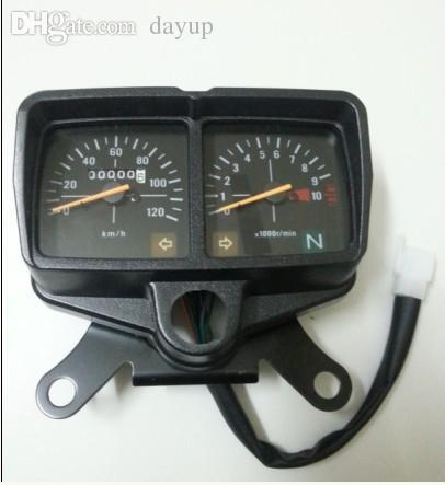 Good Wholesale Old Honda CG125 Motorcycle Parts Meter ZJ125 XF125 Studless Meter
