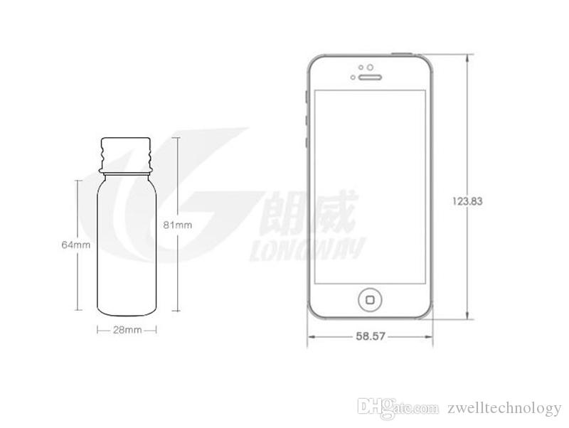 30 ml Bottle Empty Plastic Aluminum Cover with the plug Hydrosols Packing bottle Cosmetic to travel for brown green clear
