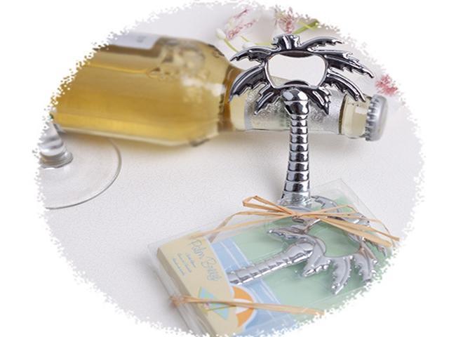 / DHL 페덱스 수신자 부담 무료 배송 팜 트리 오프너 웨딩 신부 샤워 호의 선물