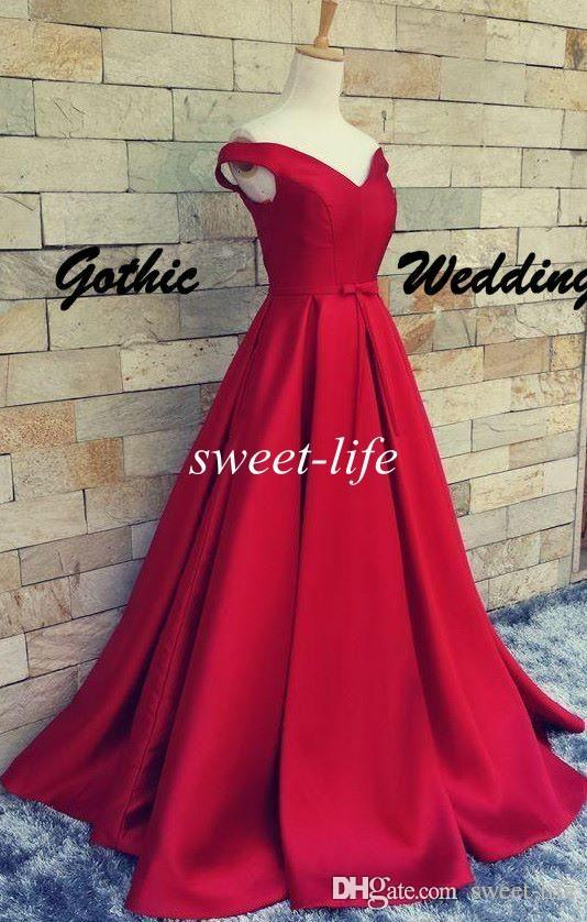 Dark Red Prom Dresses Ball Gown Cheap Sexy V-Neck Lace Up Backless Belt 2016 Vintage Party Evening Gowns Red Carpet Formal Dresses
