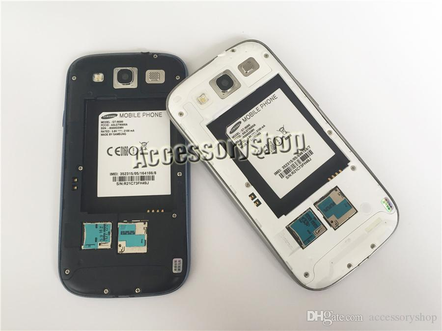 I9300 تجديدها الأصلي سامسونج غالاكسي S3 I9305 4.8 بوصة شاشة رباعية النواة 1.4GHz 3G WCDMA 4G LTE مفتوح الروبوت الهاتف DHL