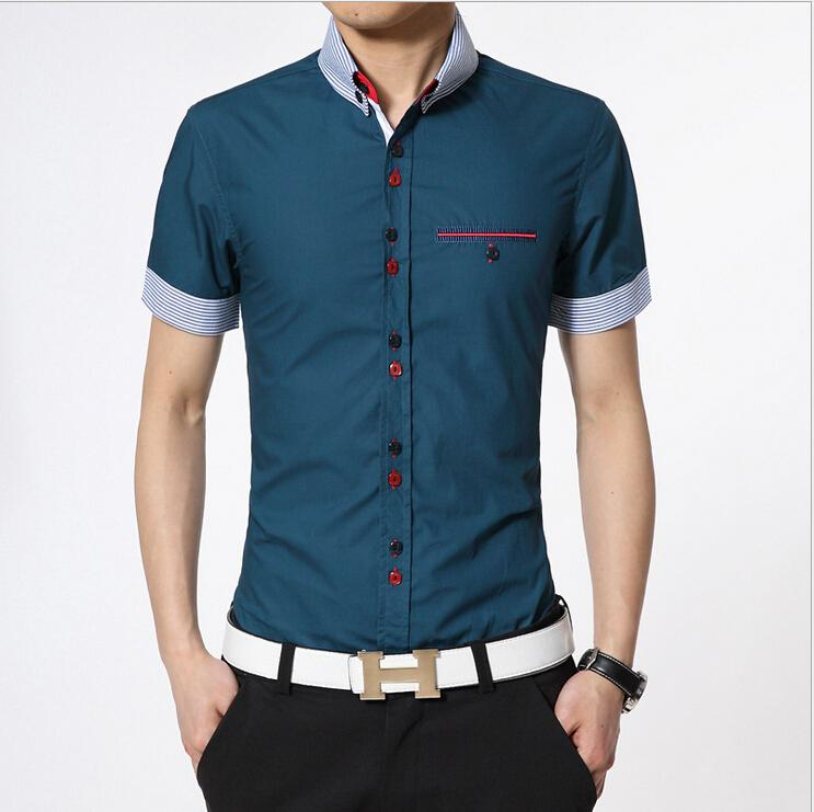 Best Wholesale Men Casual Shirts With A Breast Pocket Regular Fit ...