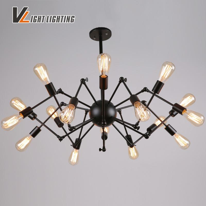 Loft Industrial Lamp Verlichting Retro Luminaire Suspension