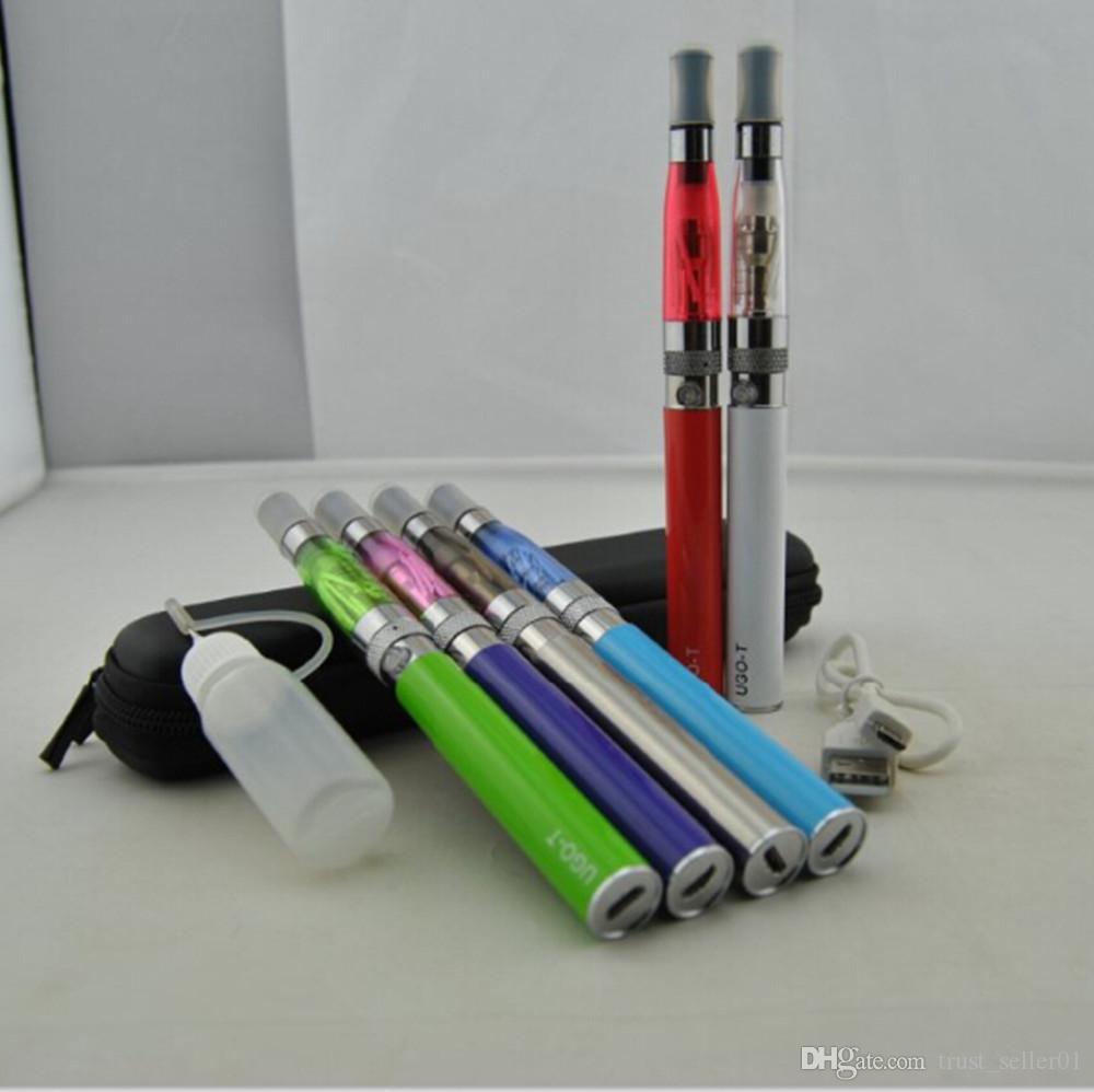 UGO-T E Сигареты Micro USB passthrough Аккумуляторы ecigs ego ugo T kit с электронными сигаретами ce4 ce5 Испаритель распылитель vape стартовые комплекты