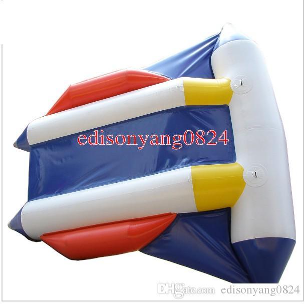 4-Sitzer aufblasbares Fliegenfischrohr towable, aufblasbare Banane Fliegenfisch