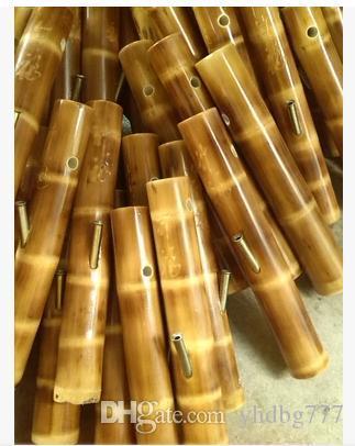 Дымоход артефакт тонкого помола плюс классический бамбук бамбук головы кальян трубы водопровод Юньнань рот
