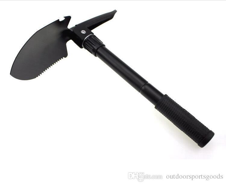 Camping tools/multi-purpose folding shovel for small army shovel/pick camp folding shovel