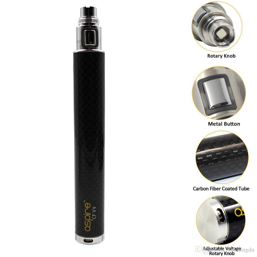 Authentic Aspire™ CF VV+ Variable Voltage Battery - Vapor