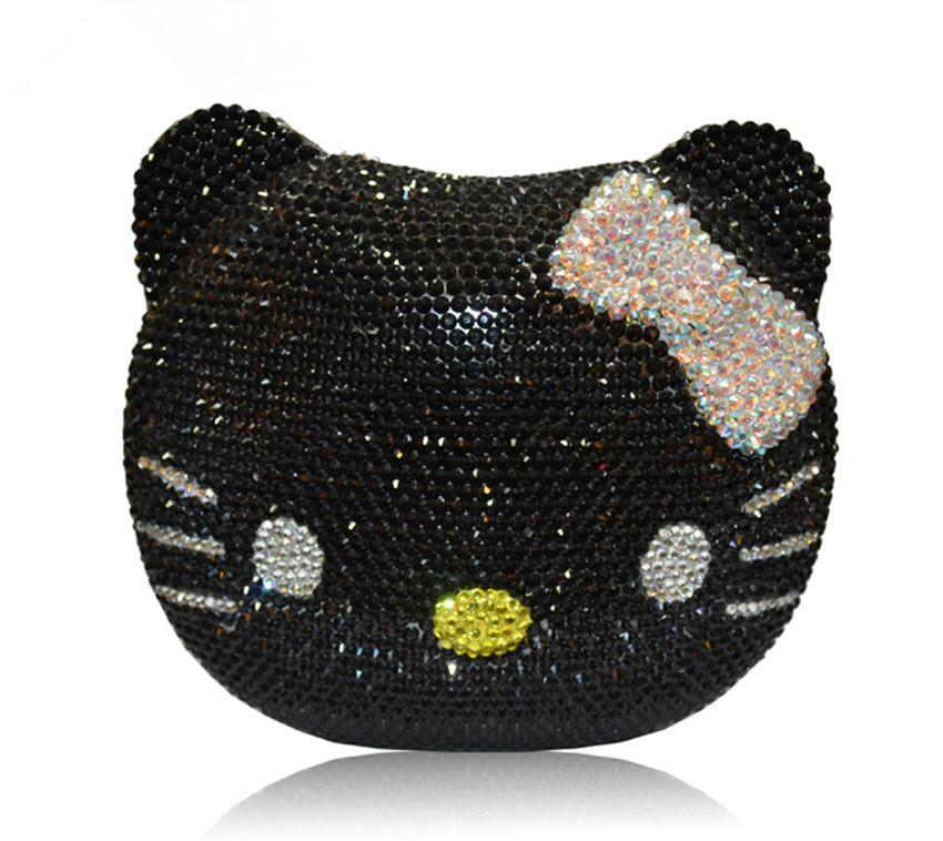 480af9351f Women  s crystal clutch evening bag mini fashion luxury diamond rhinestone  gift for girls lady