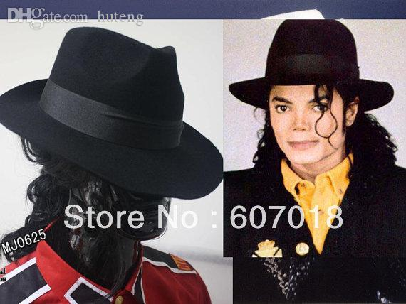 Wholesale-MJ Michael Jackson Ultimate Collection Black Fedora Hat Fedora  Hat Felt Fedora Hat Women Fedora White Hat Online with  65.79 Piece on  Huteng s ... ed4de03b80b7